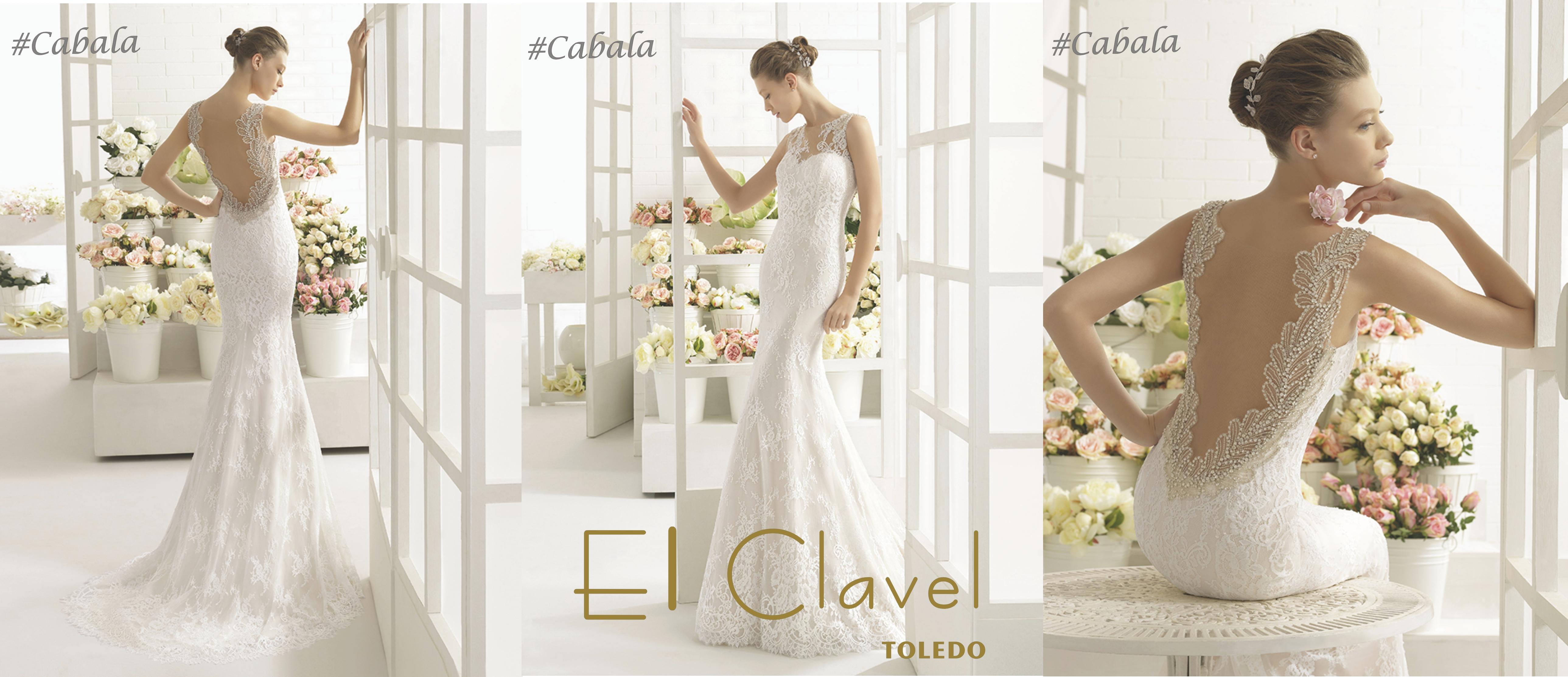 Vestido de la novia modelo