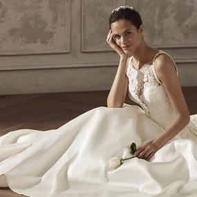 Vestido de Novia modelo Alysa San Patrick. El Clavel Toledo